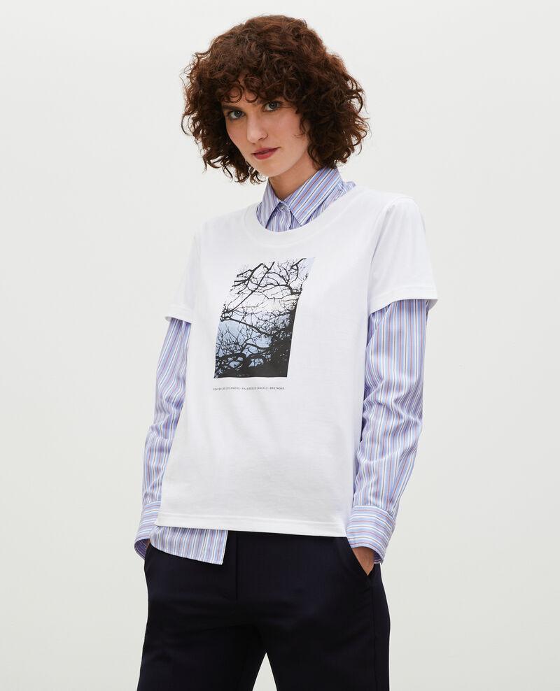 Camiseta de algodón manga corta Bretagne Magali