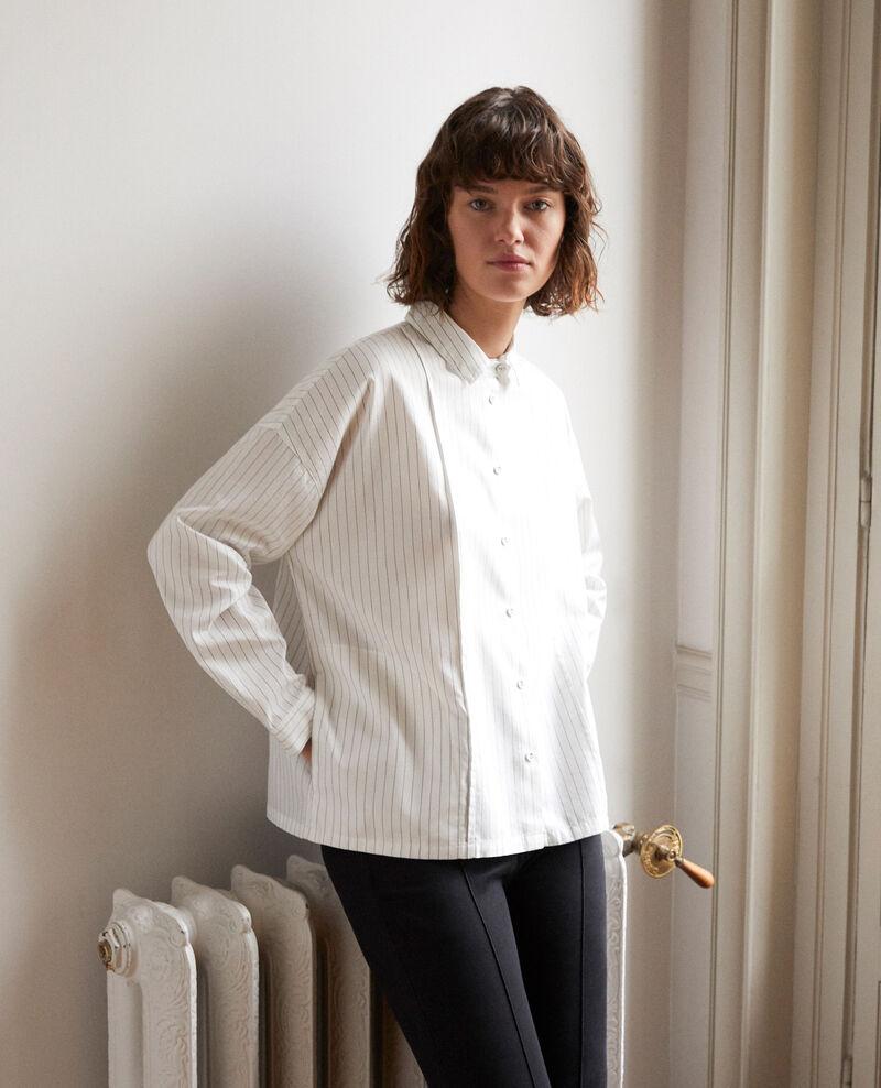 Camisa de corte recto Blanco Goran