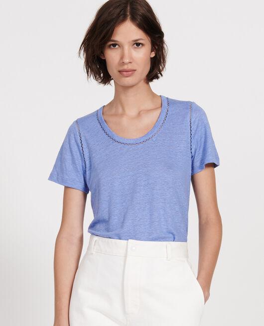 Camiseta de lino de jersey PERSIAN JEWEL