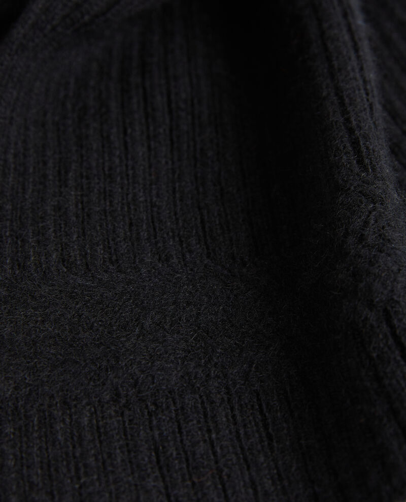 Bufanda de cachemir Black beauty Miosa