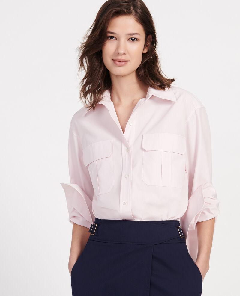 Camisa de popelina de algodón Primrose pink Lauryl