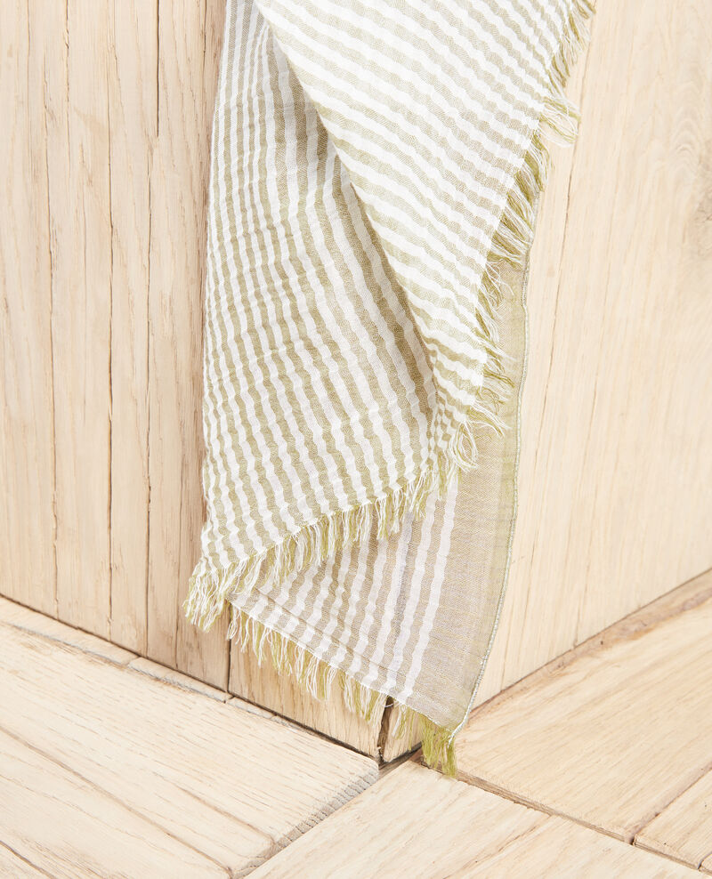 Fular rayado Blanc/light co Istripo