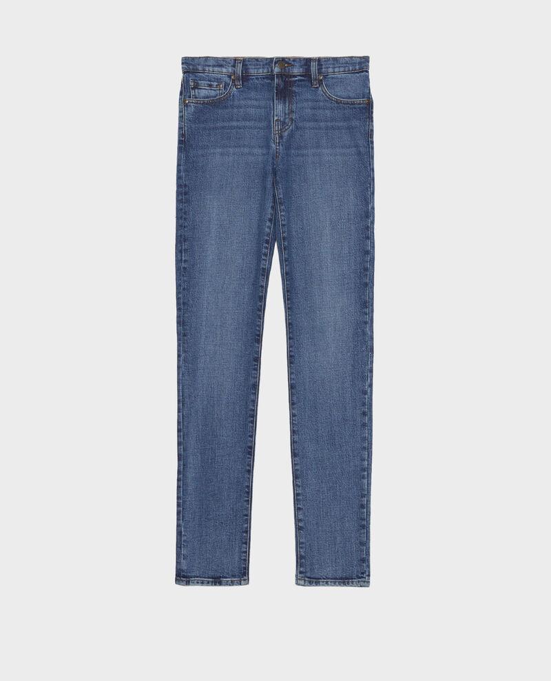 LILI - SLIM - Jeans 5 bolsillos Denim medium wash Mandro