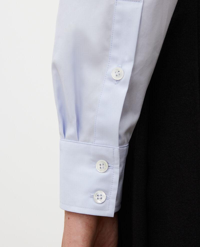 Camisa boyish de algodón Heather Lynda