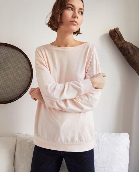 Comptoir des Cotonniers - Sudadera de cuello barco Light pink - 5