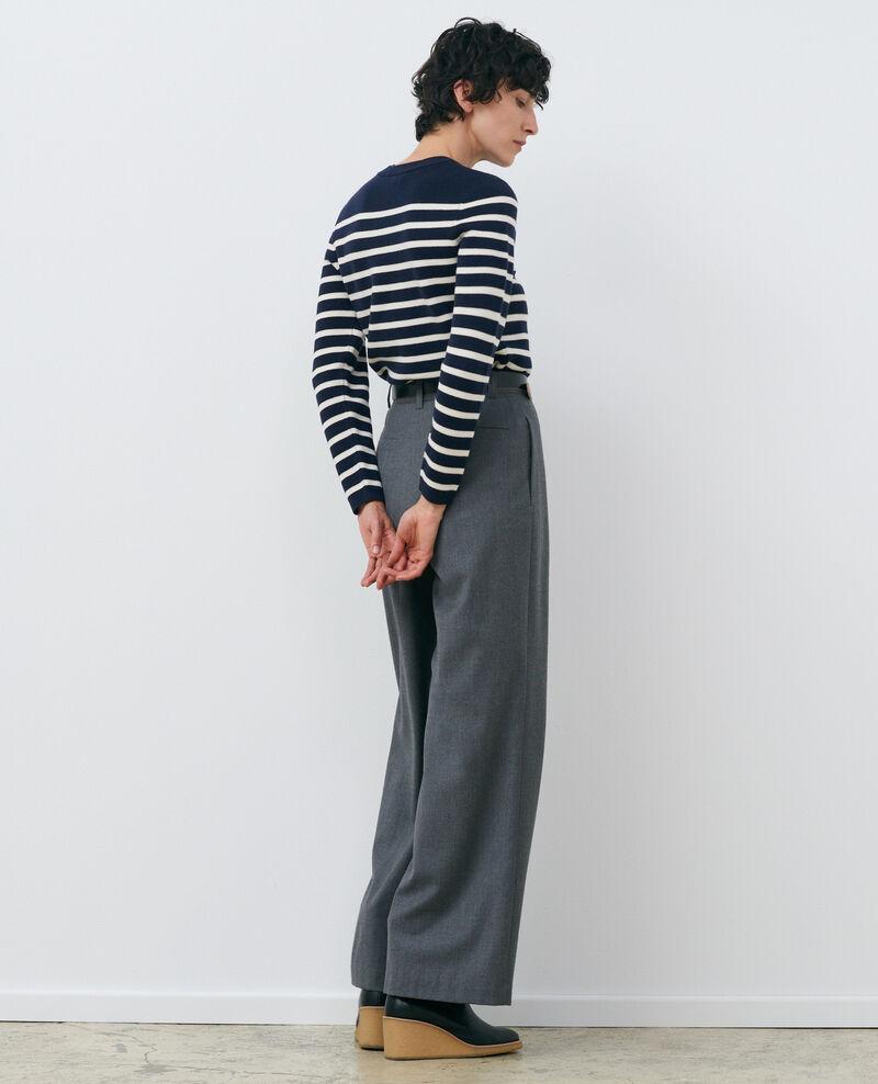 MADDY - Jersey marinero de lana Stp nv wht Liselle