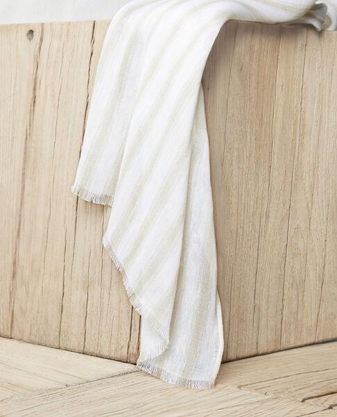 Comptoir des Cotonniers - Foulard avec du lin Sand beige/w - 2