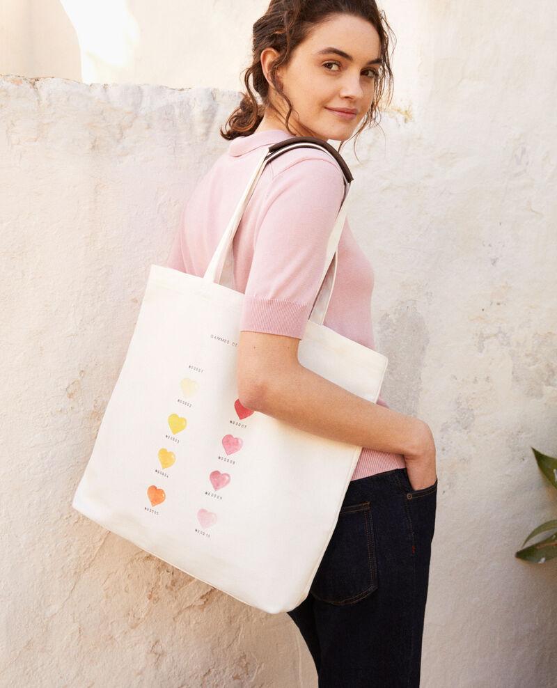 Bolso tote bag modelo mediano Coeur gamme Iba