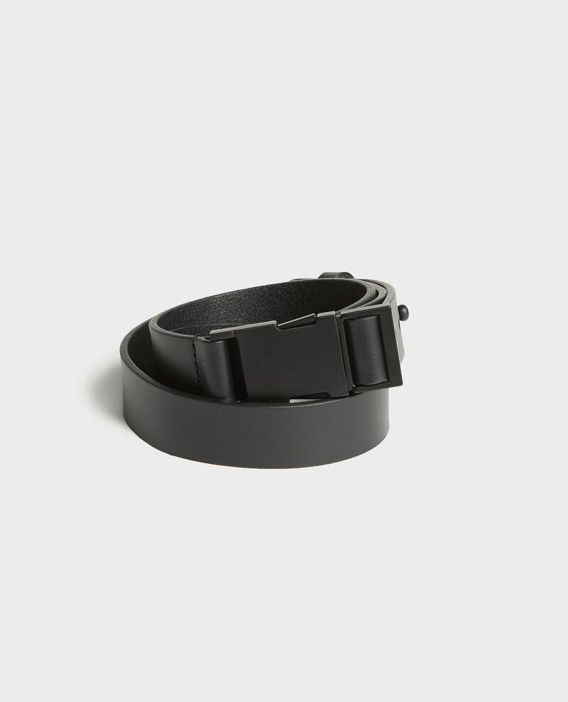 Cinturón de cuero Black beauty Lequipe