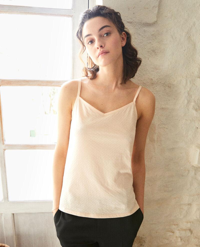 Camiseta con tirantes finos Rose Gagnant