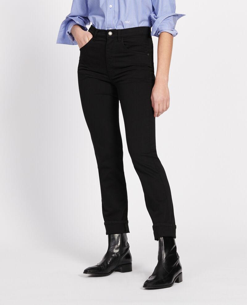 Pantalón de corte recto Black beauty Lozanne