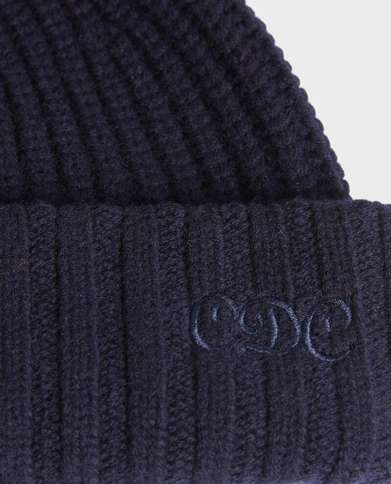 """Gorro de lana con las letras """"CDC"""" bordadas Night sky Moeze"""