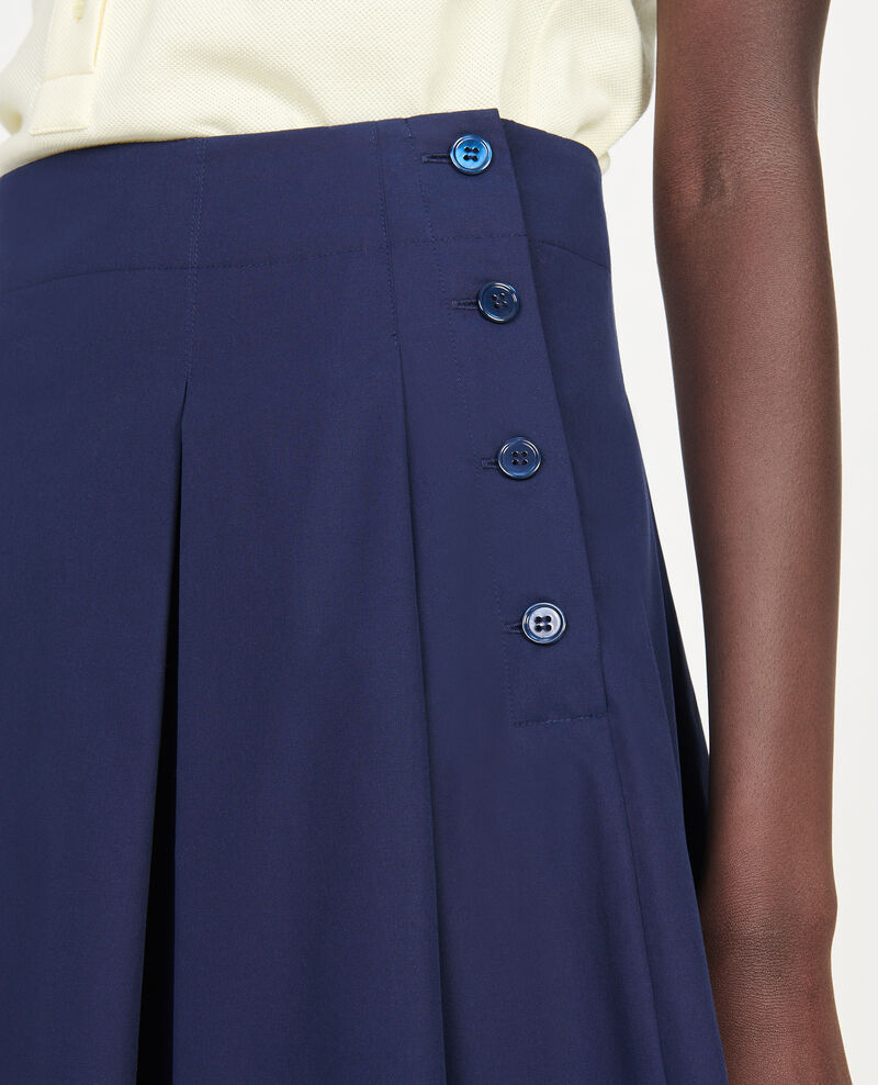 Falda de algodón Maritime blue Listille