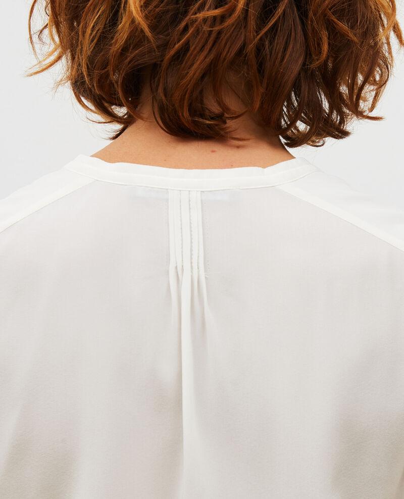 Camisa fluida de seda con manga larga Jet stream Marboua