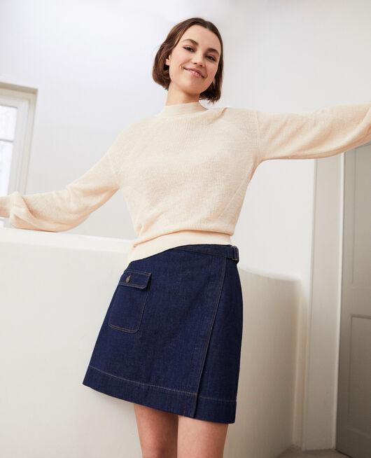 Falda jeans cruzado RINSE