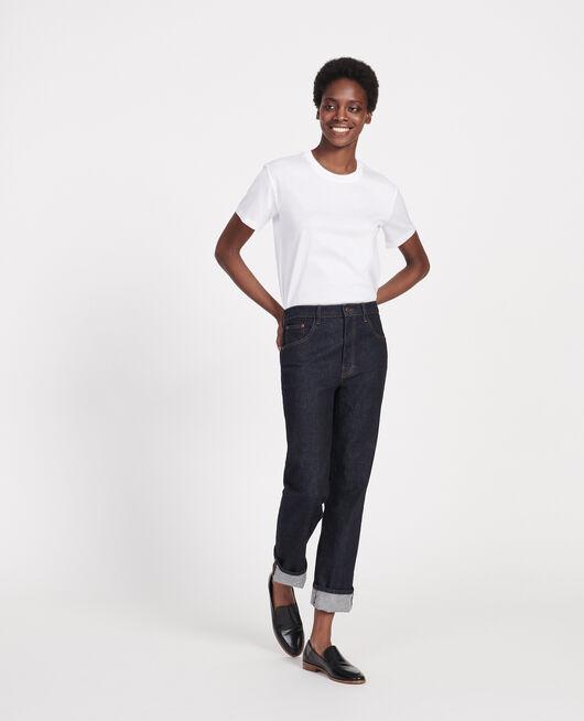 Camiseta clásica de algodón OPTICAL WHITE