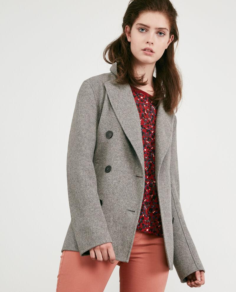 Chaqueta con lana Medium heather grey 9darabie