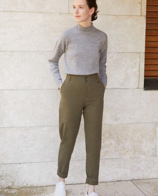 Pantalones chinos Verde