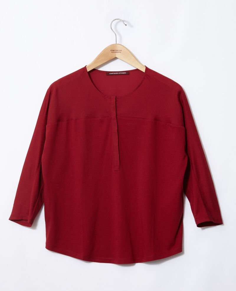 Camiseta de dos tejidos Rio red Genious