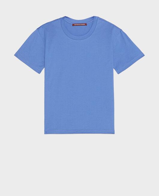 Camiseta clásica de algodón AMPARO BLUE