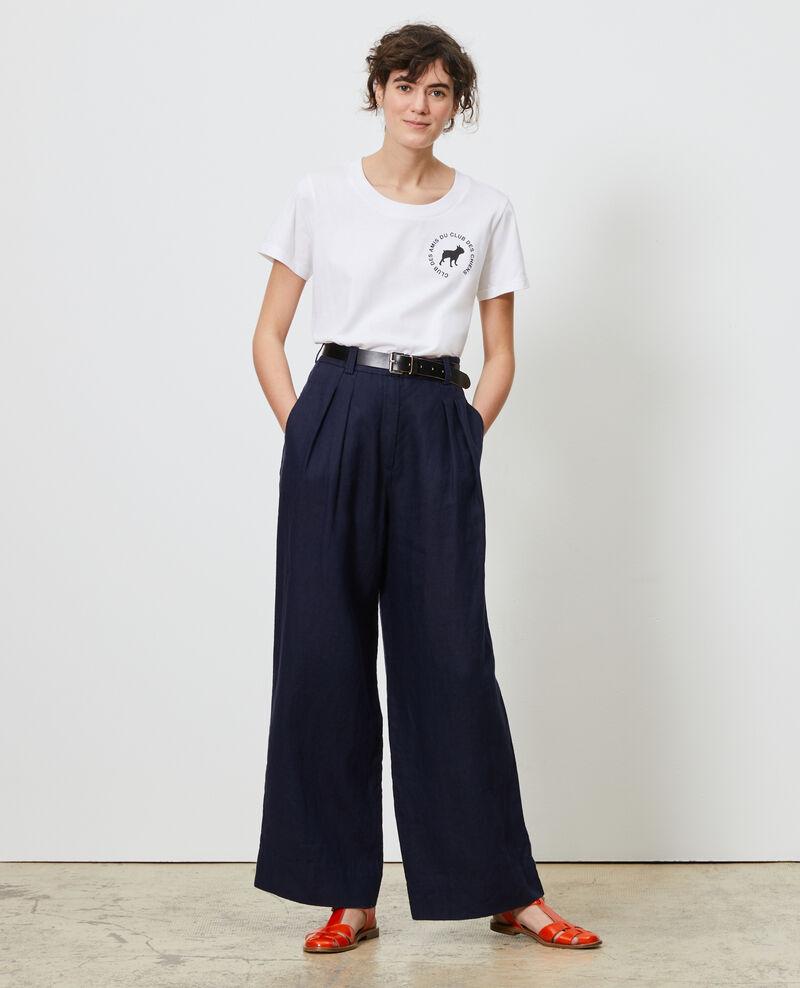Camiseta de algodón Brilliant white Nyer