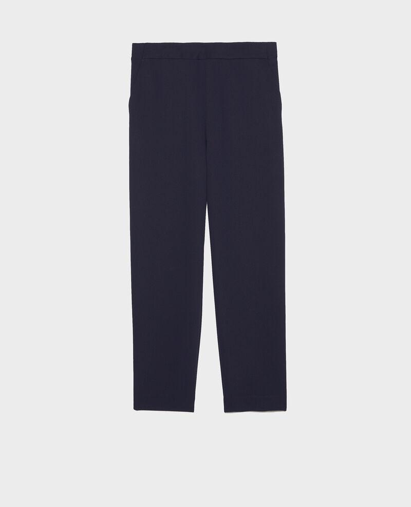 Pantalón fluido elástico Maritime blue Luant