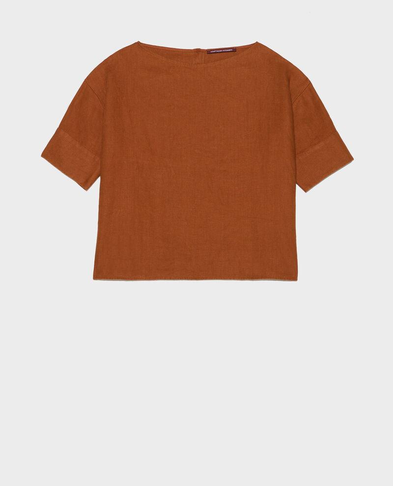 Top amplio de lino Monks robe Lordat