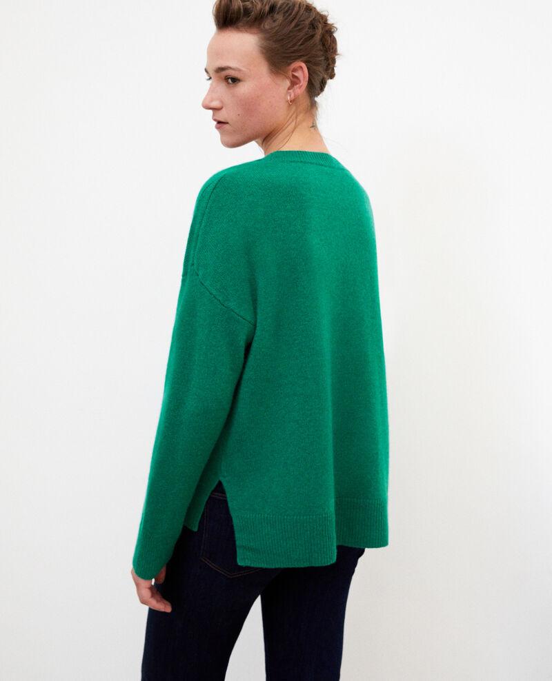 Jersey de cachemir Ultra green Geraldine