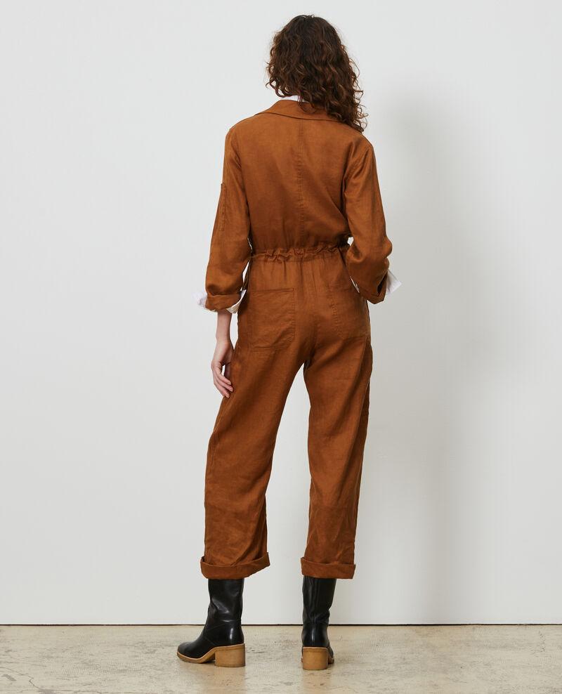 Mono largo de lino Monks robe Lachassain