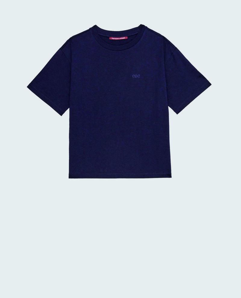 Camiseta oversize de algodón manga corta  Night sky Maincy