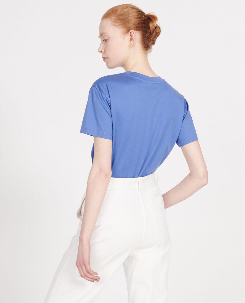 Camiseta clásica de algodón egipcio Amparo blue Lirous