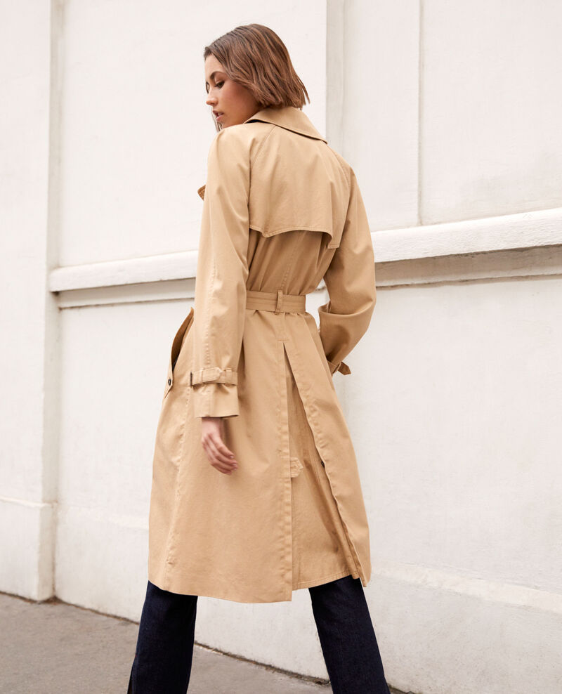 Trench atemporal Safari beige Illary
