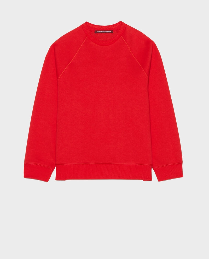 Sudadera atemporal Fiery red Lison