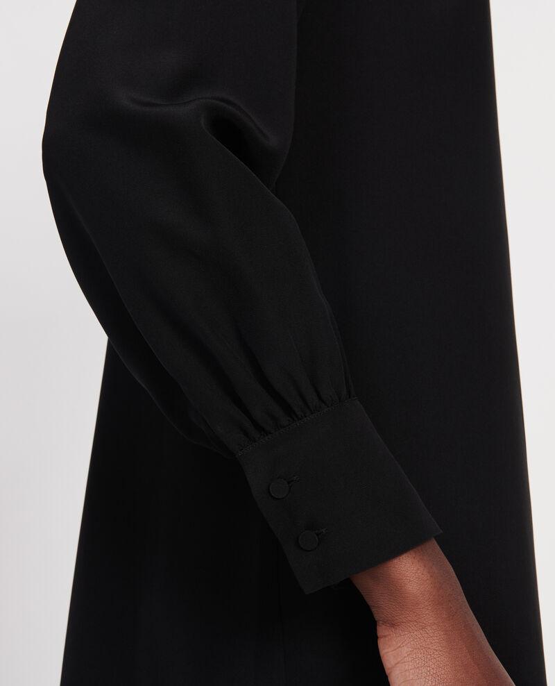 Vestido de seda Black beauty Lamax