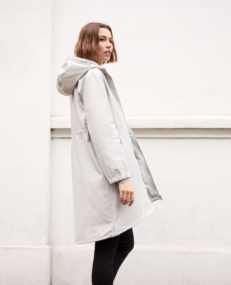Parka ligera Light grey Ibis