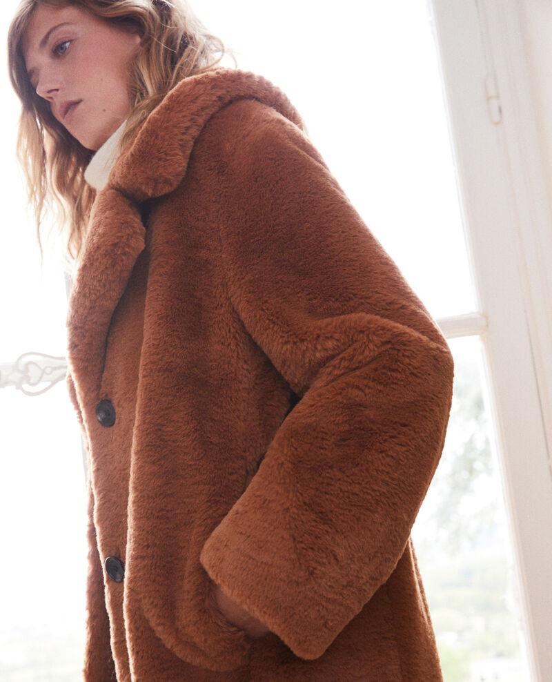 Abrigo de piel sintética Lion Jaout