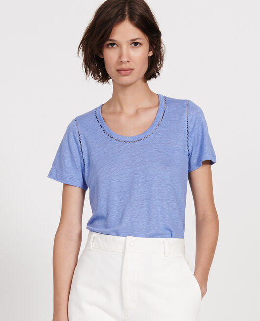 Camiseta de lino PERSIAN JEWEL