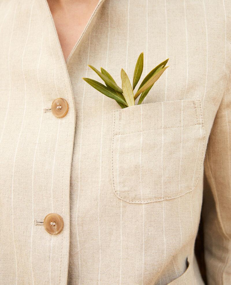 Chaqueta sastre Natural linen/off white Imarus