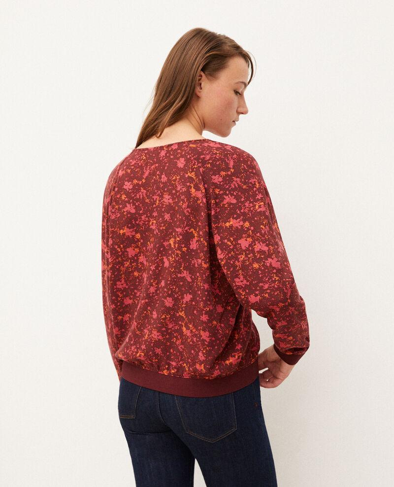 Blusa con escote de pico Rojo Goisson