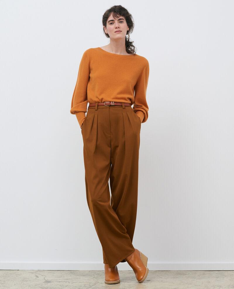 Pantalón YVONNE, ancho con pinzas Monks robe Pradus