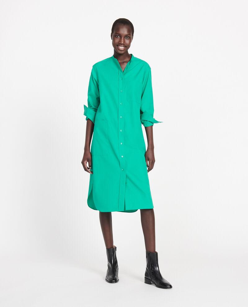 Vestido largo oversize Golf green Liomer