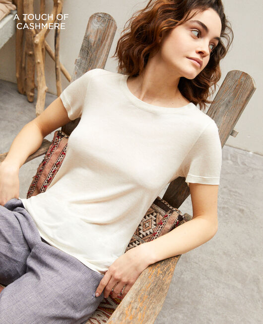 Camiseta atemporal NATURAL BEIGE