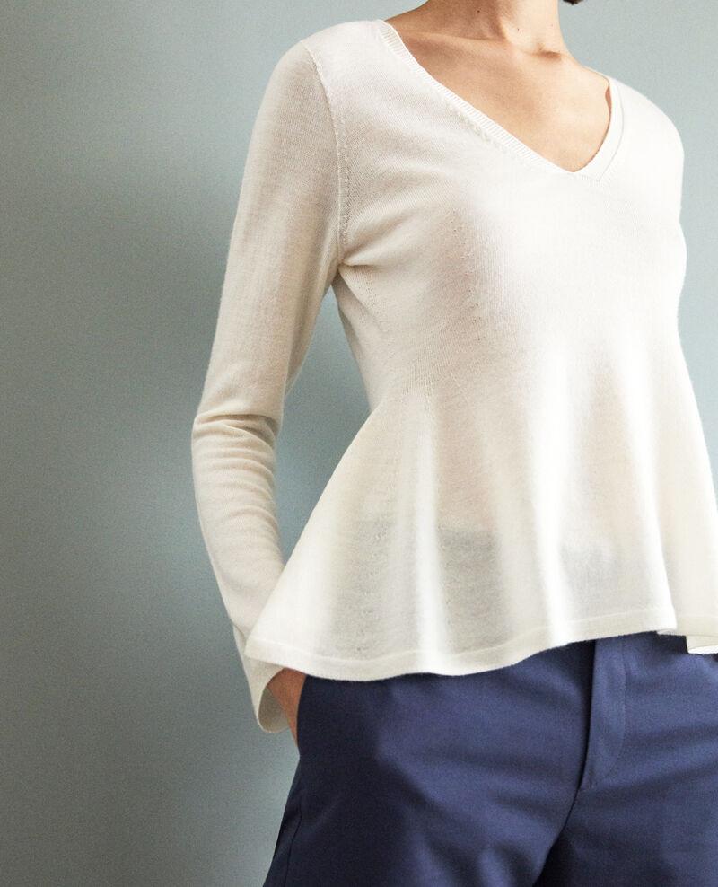 Jersey de lana  Blanc Icarpan