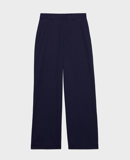 Pantalón masculino de algodón MARITIME BLUE