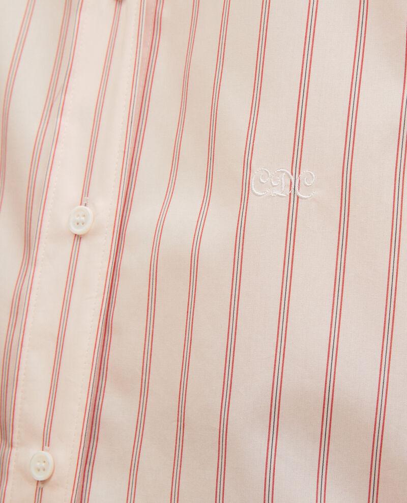 Camisa boyish de algodón Popeline stripe3 Labilo