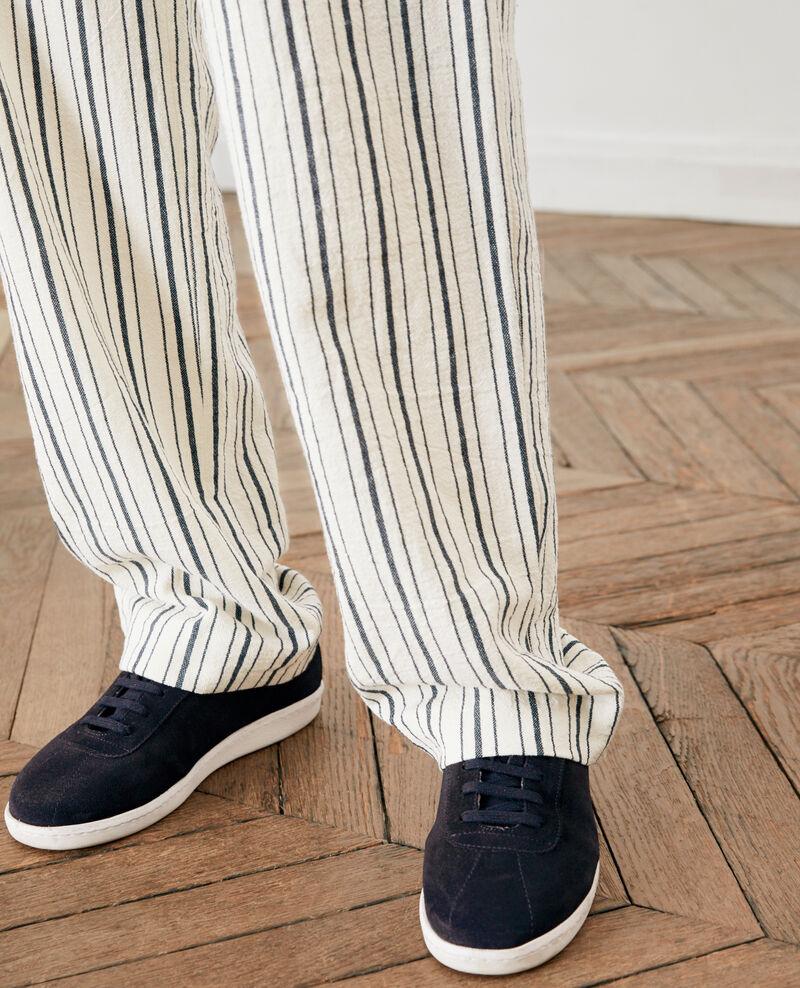 Sneakers de cuero Navy Felaver