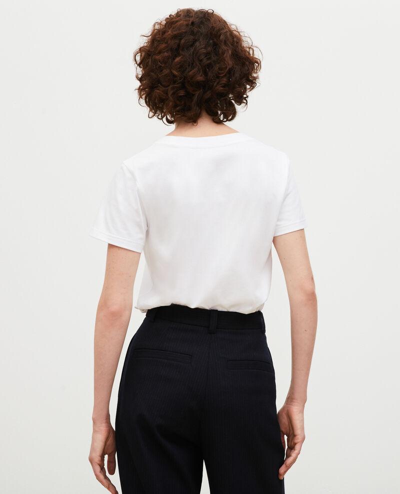 Camiseta de algodón manga corta Landes Magali
