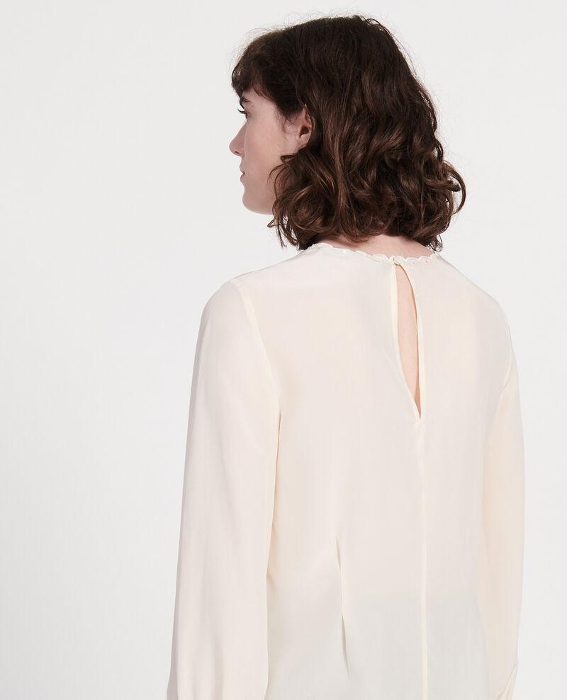 Blusa con bordados Buttercream Lolape