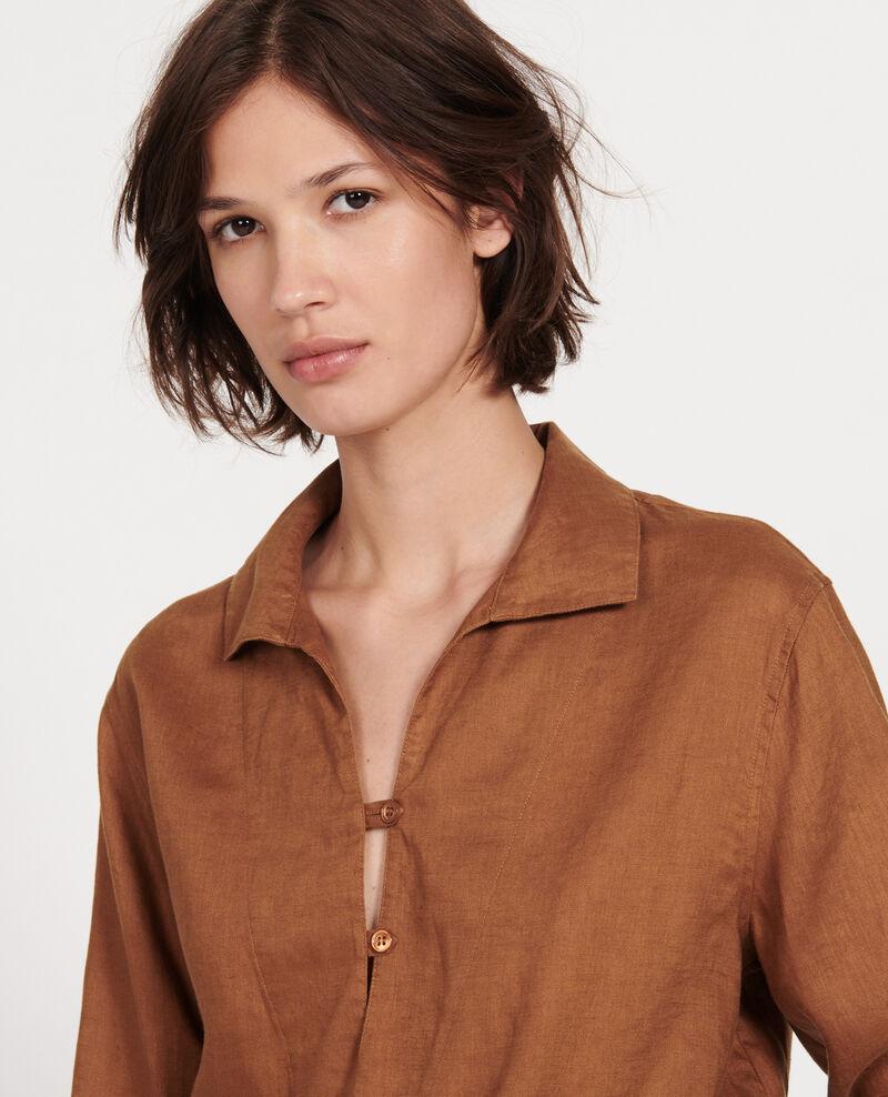 Blusa de lino Monks robe Lortet