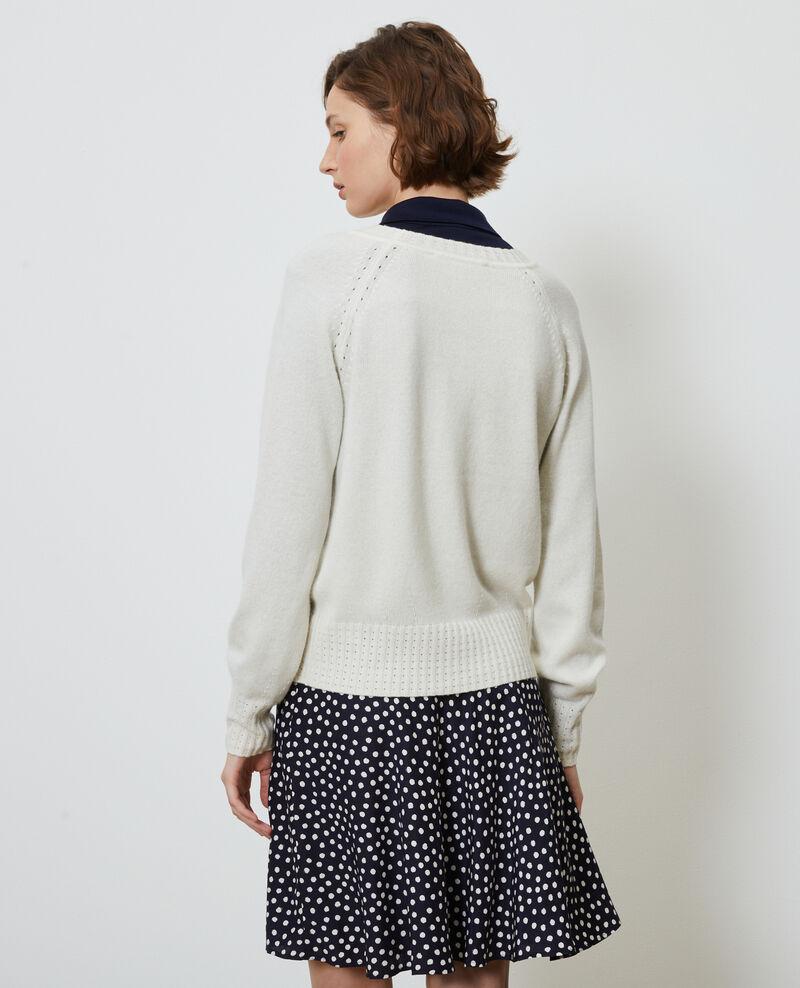 Jersey de cachemir con cuello redondo Gardenia Nogna